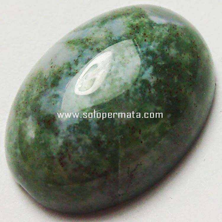 Batu Permata Akik Lumut