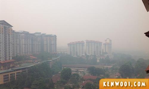 malaysia haze view