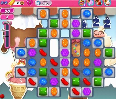 Candy Crush Saga 710