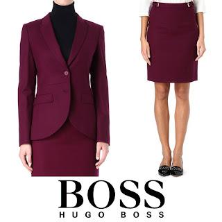 HUGO BOSS Jamayla Blazer and Valessima Skirt