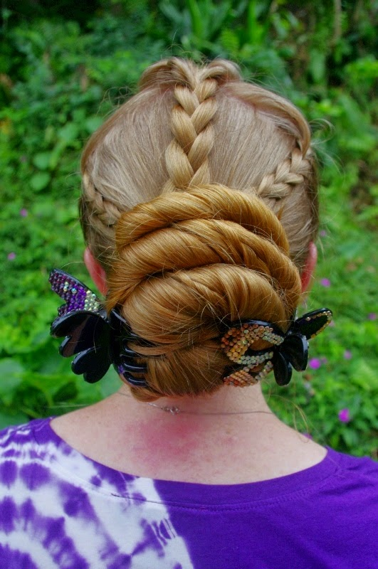 Braids Hairstyles For Super Long Hair Mohawk French Braid