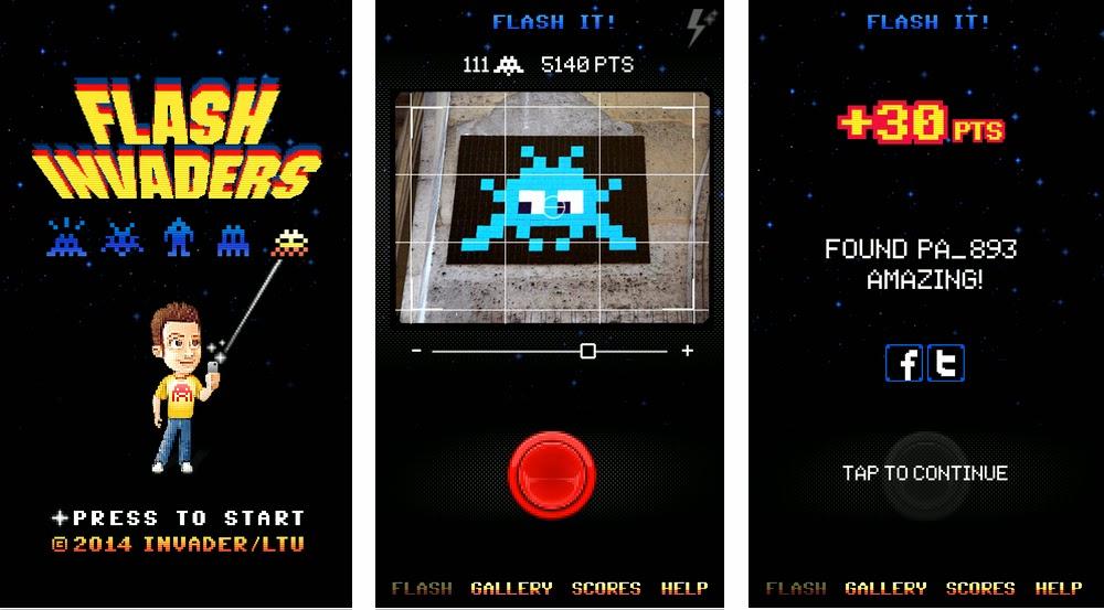 Street Artist Invader launches App
