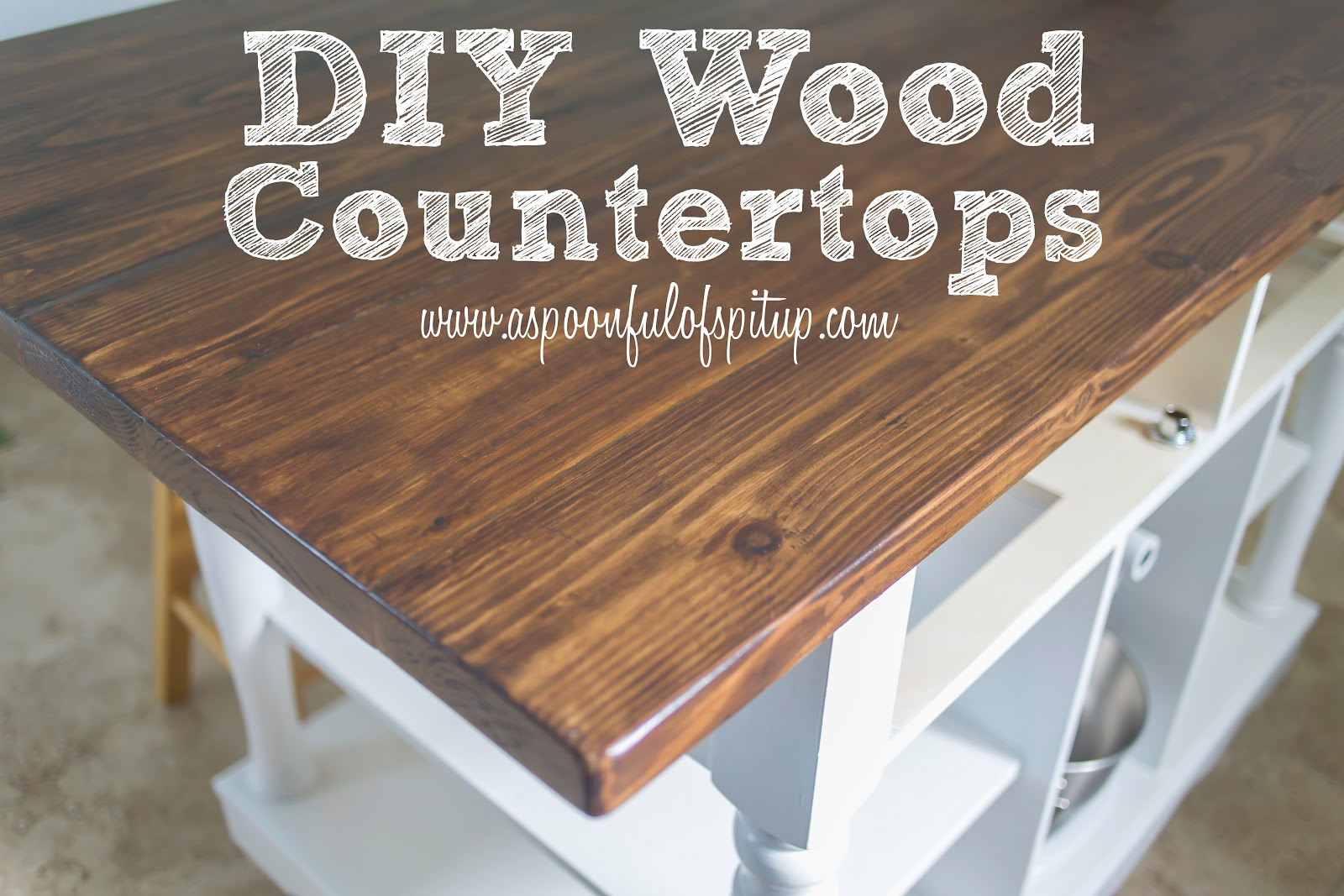 making wood countertops