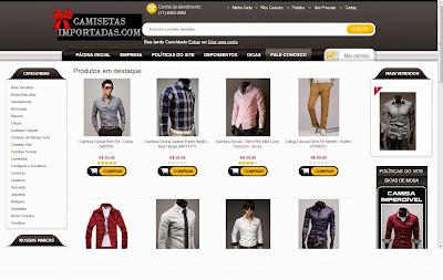 CamisetasImportadas.com - Compra Segura e Confiável
