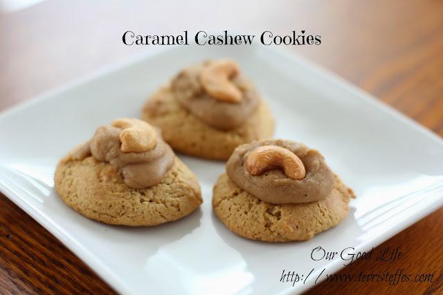 Steffes Caramel Cashew Cookies