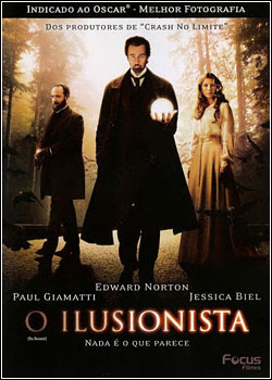 Download - O Ilusionista - DVDRip AVI - Dual Áudio