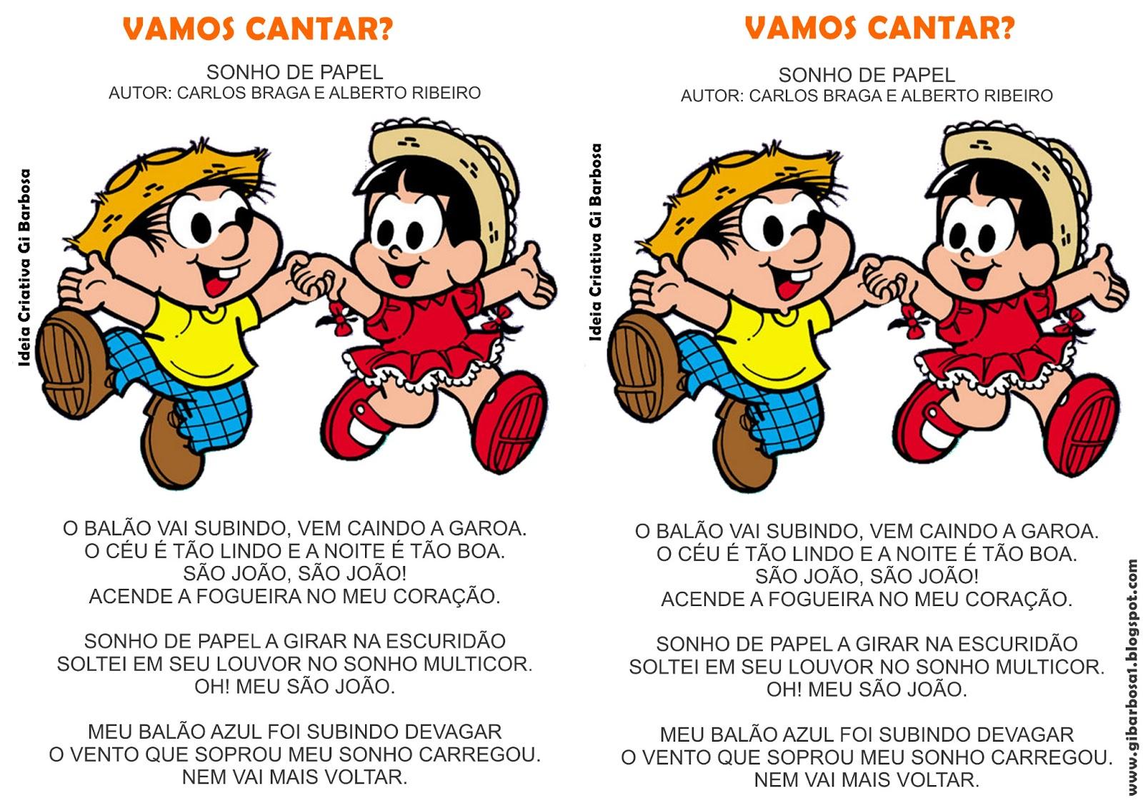 Música Ilustrada Festas Juninas