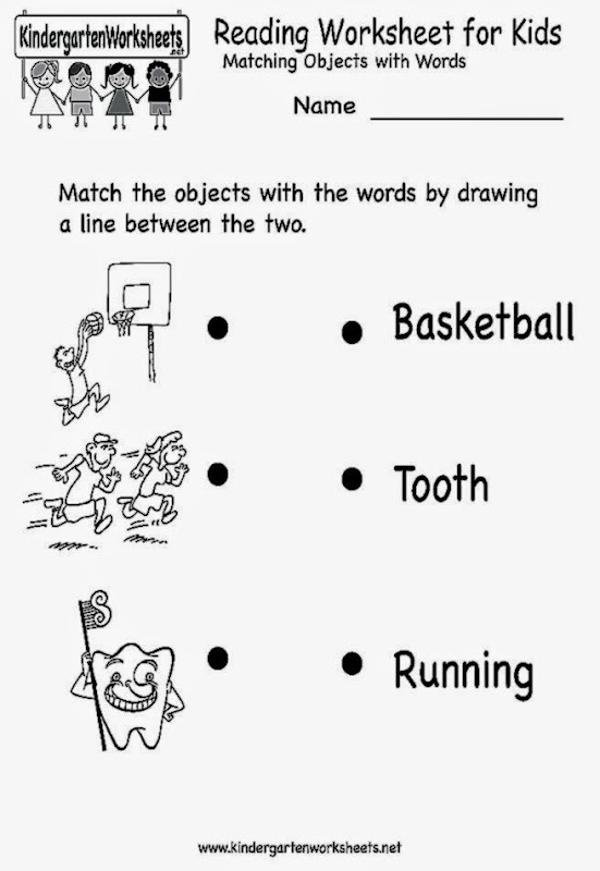 Number Names Worksheets english for kindergarten worksheet – Worksheet English for Kindergarten