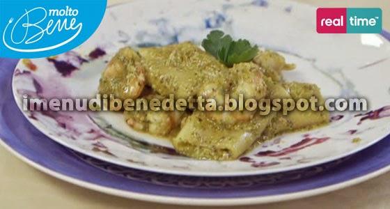 Paccheri con Pesto di Pistacchi e Bisque di Benedetta Parodi