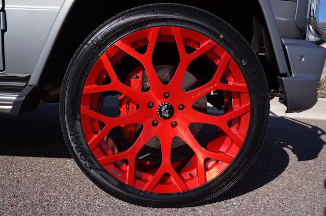 forgiato red wheels