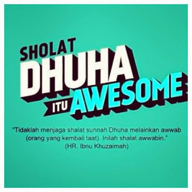 Jom Solat Dhuha...