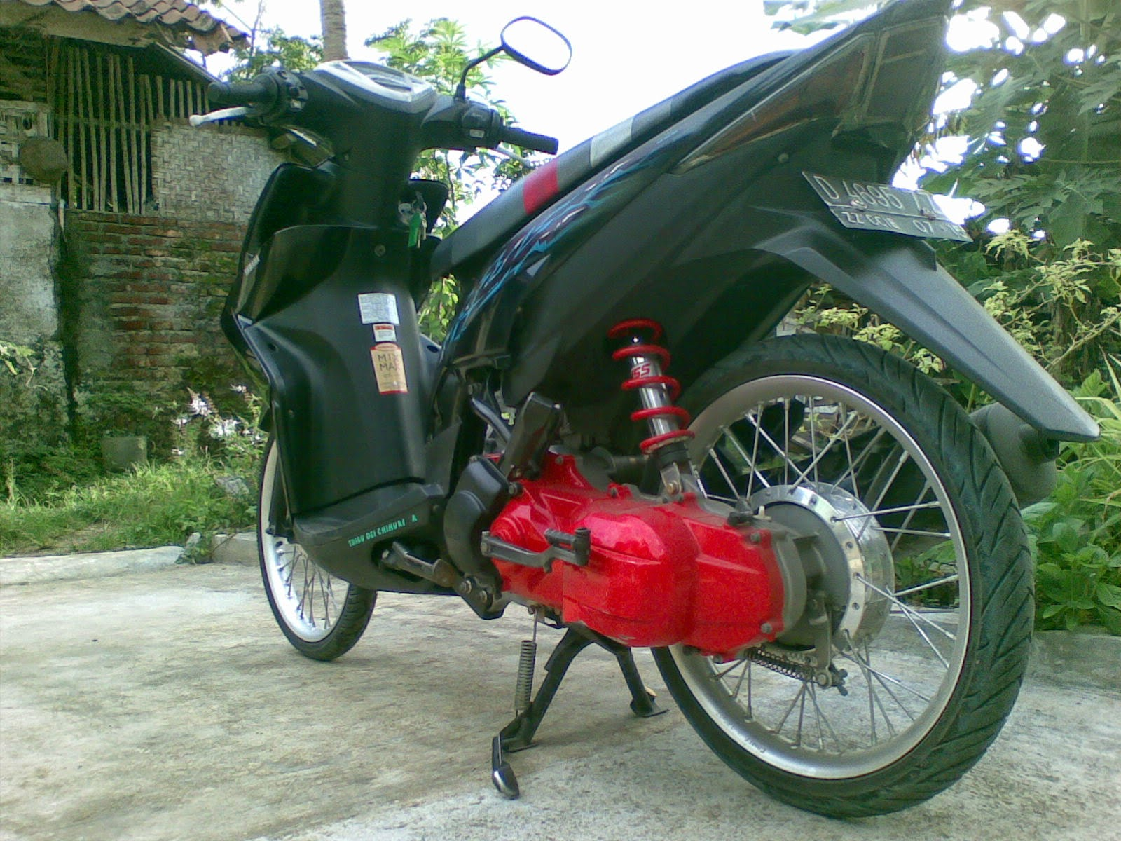 Top modifikasi mio xeon