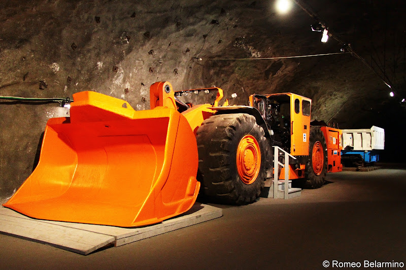 Kiruna Mine Equipment Sweden