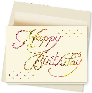 free happy birthday greeting card simple design