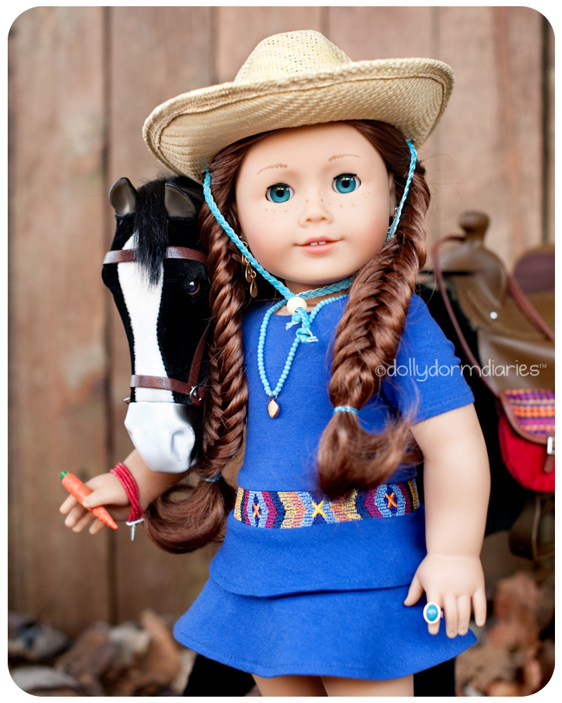 American Girl Doll of the Year, Saige. Read 18 inch doll diaries at our American Girl Doll House. Visit our 18 inch dolls dollhouse!