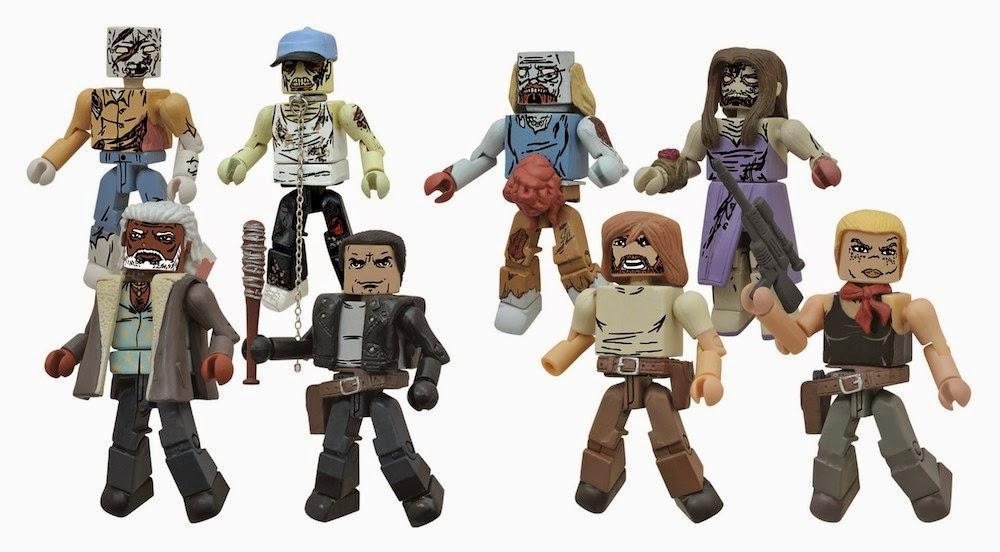 The Walking Dead Minimates serie 7