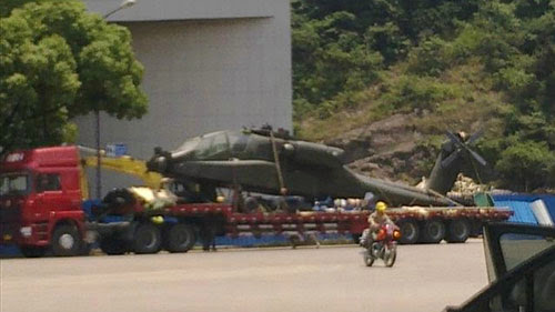 Bí mật AH-64 Apache lọt vào tay Trung Quốc