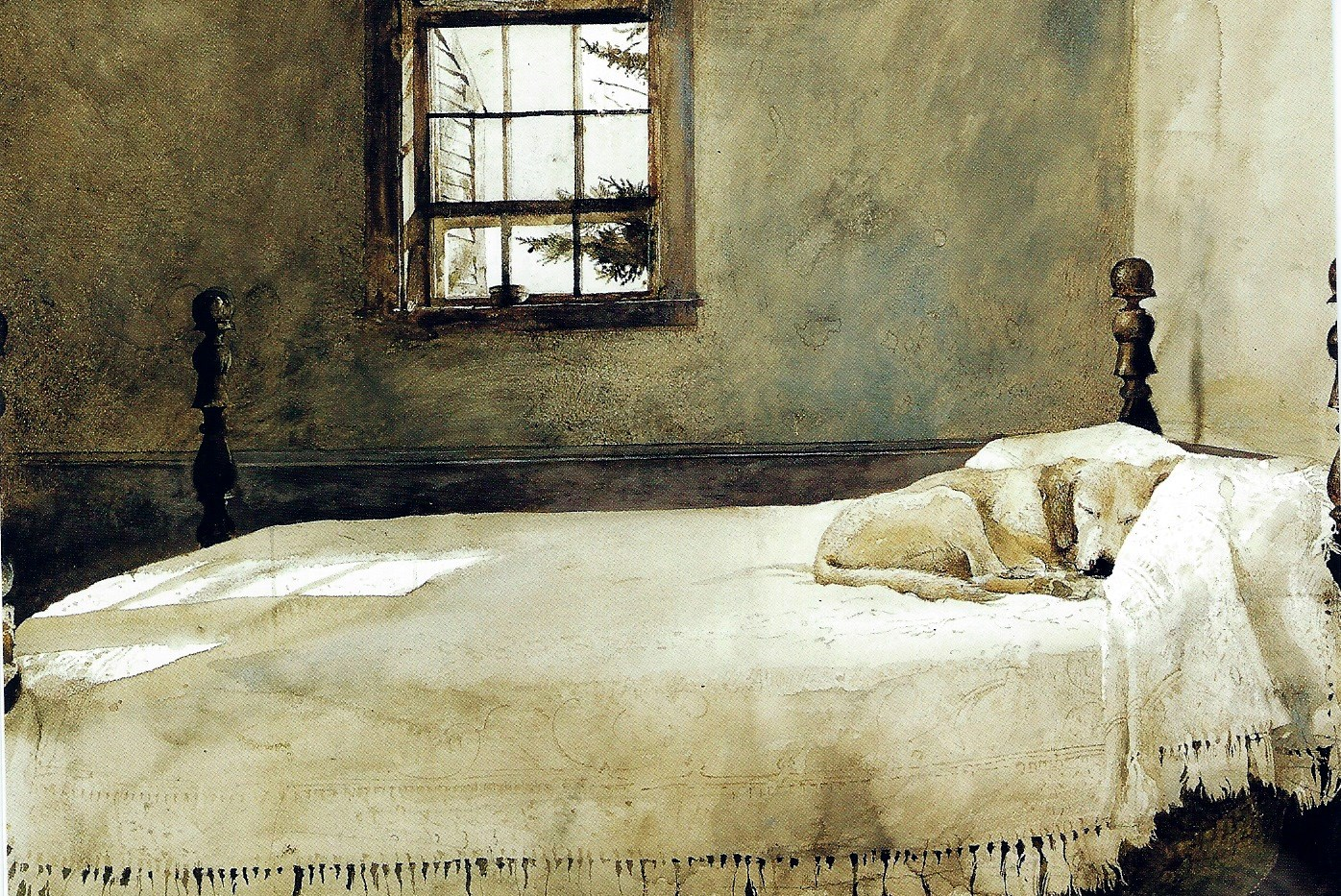 master bedroom by andrew wyeth this painting tells such a wonderful