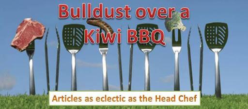 Bulldust over a Kiwi BBQ