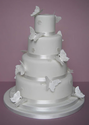 Butterfly Wedding Cake Decorations