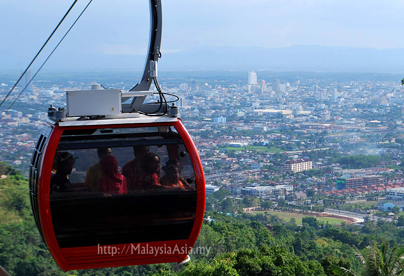 Hat Yai Thailand  city images : Hat Yai Cable Car in Thailand Malaysia Asia