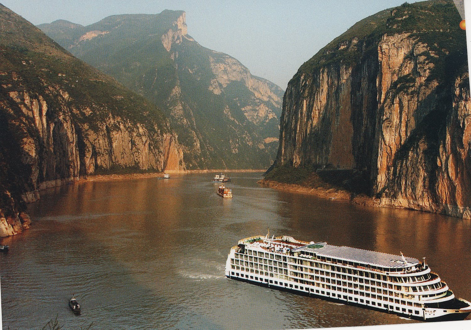 Image result for cruises on yangtze with fun