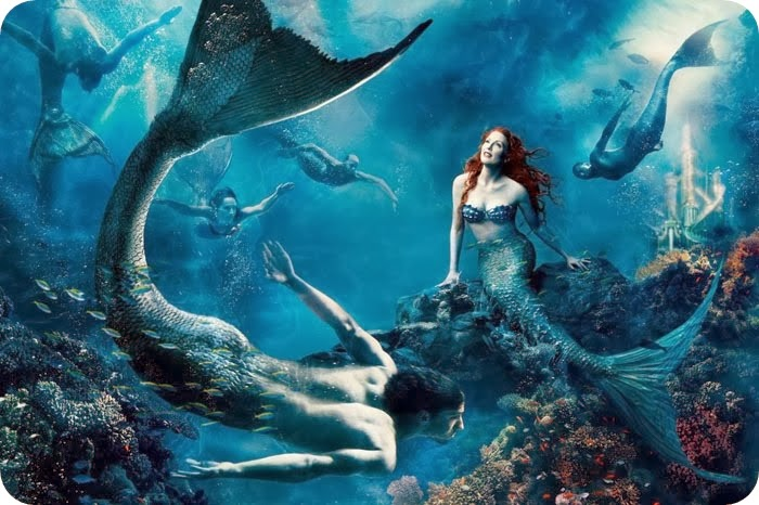 ariel the little mermaid michael phelps julianne moore annie leibovitz disney animatedfilmreviewsfilminspectorcom