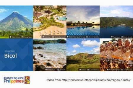 It's more fun in Bicol campaign by the Department of Tourism (DOT)