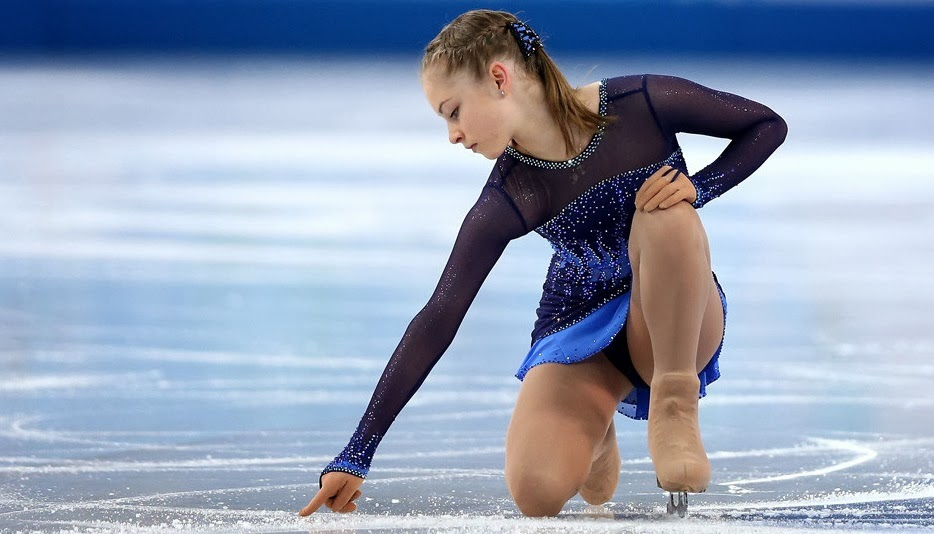 Yulia Lipnitskaya, don't give up on love,sochi 2014
