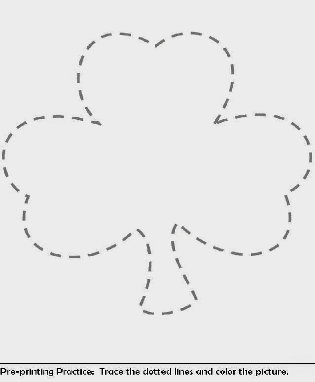 Shamrock Coloring Pages | Free Coloring Pictures