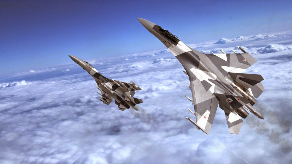 Su-35 diakui Amerika sebagai jet tempur paling kuat saat ini