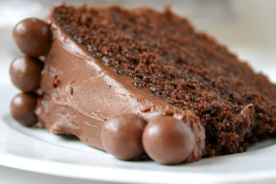 Bakergirl: Chocolate Malt Cake.