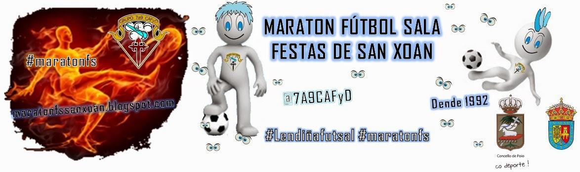 Maraton Fútbol Sala Festas San Xoan