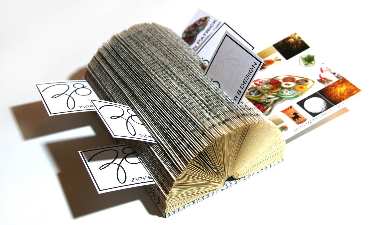 Crafty Affaire: Interesting Business Cards Displays
