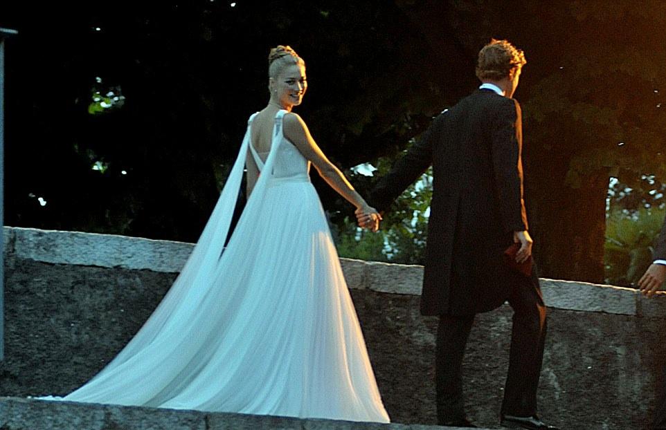ROYAL COUTURE.....Wedding of Italian Heiress Beatrice Borromeo and ...