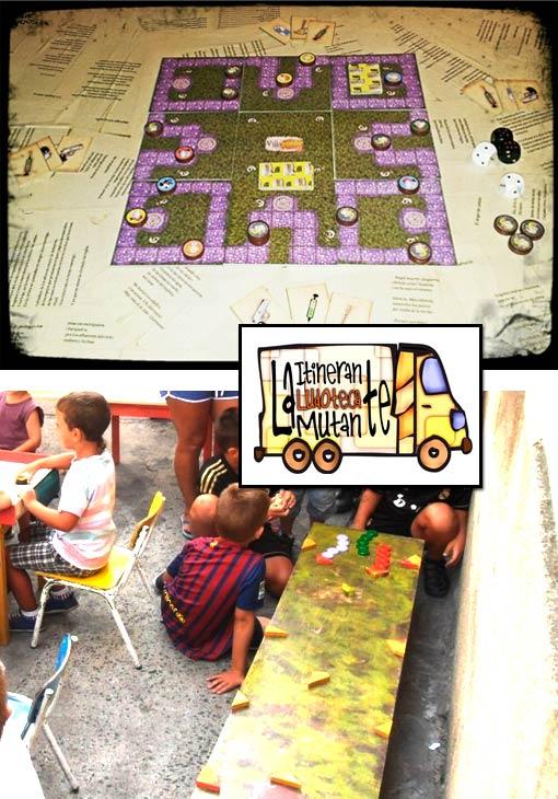 ludoteca y juegos de mesa en el Rastrel