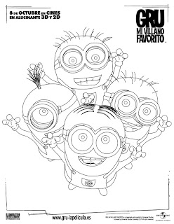Dibujos de los Minions