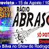 Marcelo Silva concede entrevista nesta sexta ao radialista Rodrygo Ferraz pela Rádio Abrasom em Adustina-BA