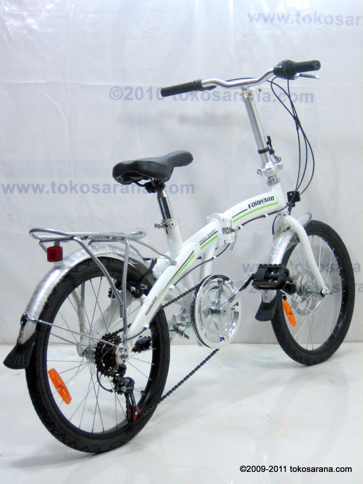 ABADI SHOPP: Sepeda Lipat FORWARD Alumunium Alloy Frame