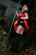 Happy Halloween from Tegan Brady Big Boobed Halloween Witch - Pics