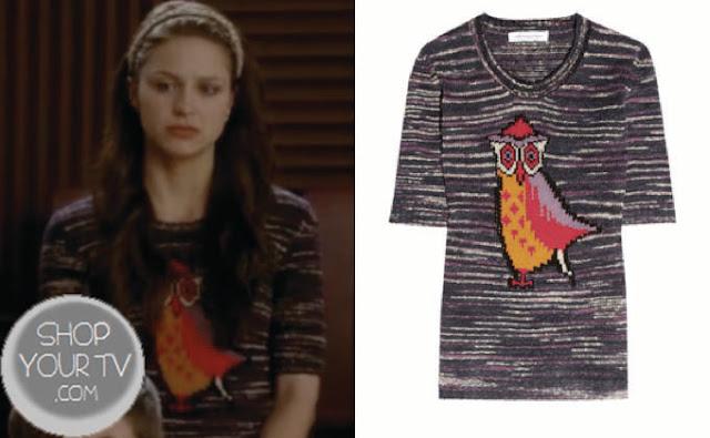 Glee: Season 4 Episode 19 Marley's Owl Sweater