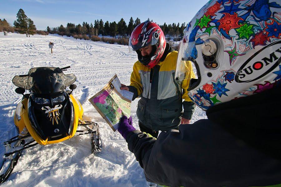 Dakotagraph Snowmobile Trails Doing Great