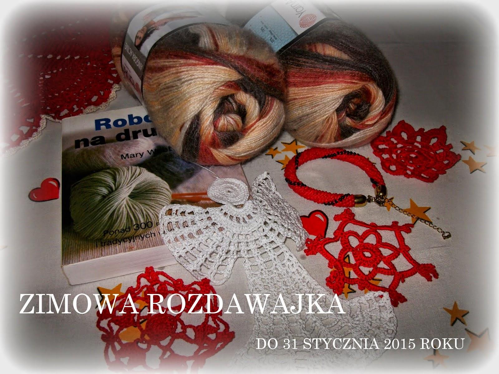 MOJA ROZDAWAJKA ZIMOWA DO 31 STYCZNIA 2015 ROKU  ZAPRASZAM DO ZABAWY!!!!!!!