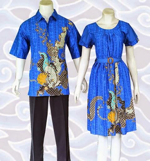 baju batik couple modern murah online