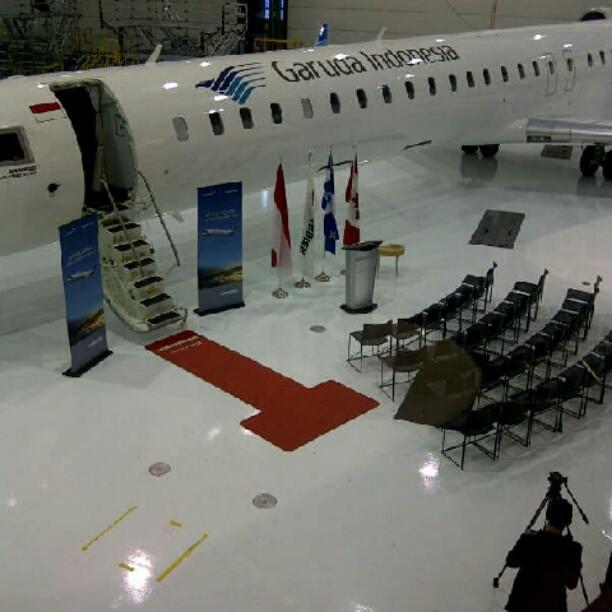 GerryAirlines: Garuda menerima CRJ-1000NG pertamanya