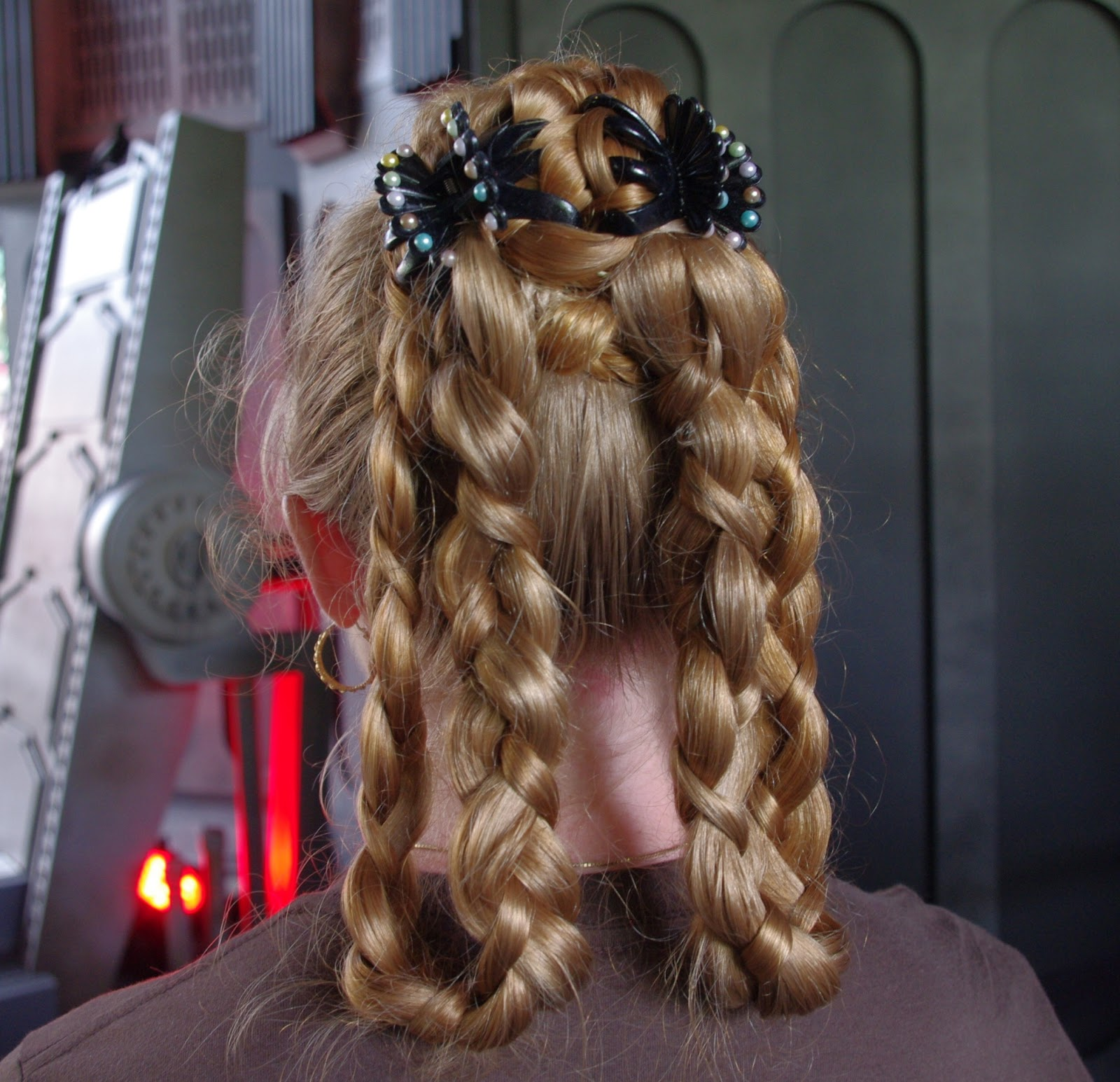 May The Fourth Be With You French: Braids & Hairstyles For Super Long Hair: Princess Leia's