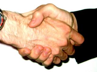 Cooperative handshake