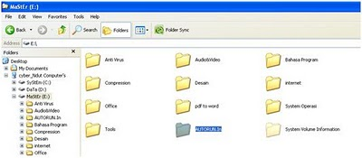 how to delete autorun inf