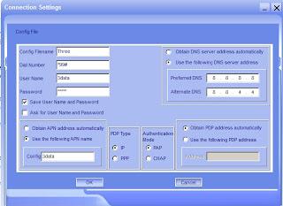 Setting Koneksi ZTE PC Modem