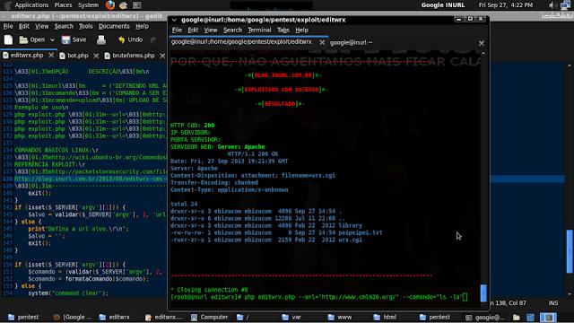 Exploit Editwrx PHP